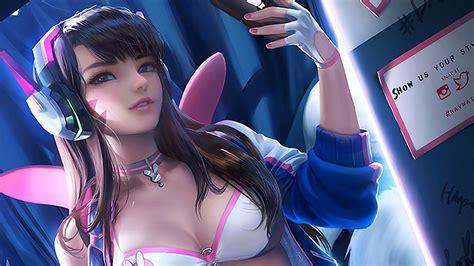 Sexy D Va Overwatch Wallpapers
