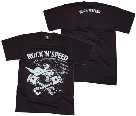 T Zone Rock N Rockin Hijau t shirt rock n speed rock n roll t shirts details