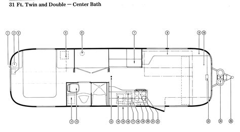 1971 airstream with rear bath wiring diagrams wiring