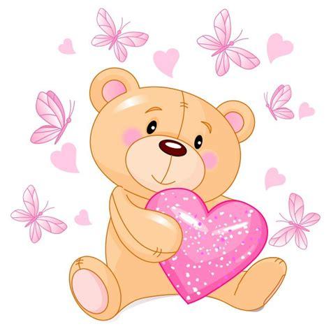 imagenes de corazones con ositos vinilos infantiles osito corazones y mariposas