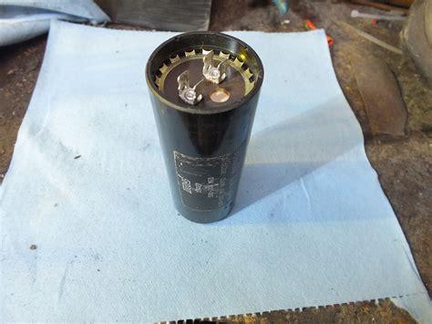 Start Capacitors Gray Furnaceman Furnace Troubleshoot