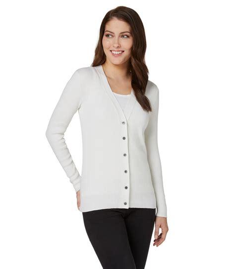 cotton v neck cardigan sweater tunic