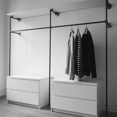 Scandinavian Style by 30 Chic And Modern Open Closet Ideas For Displaying Your