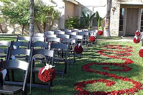 outdoor wedding ceremony setup sydney padded folding chairs hire for outdoor weddings and in sydney