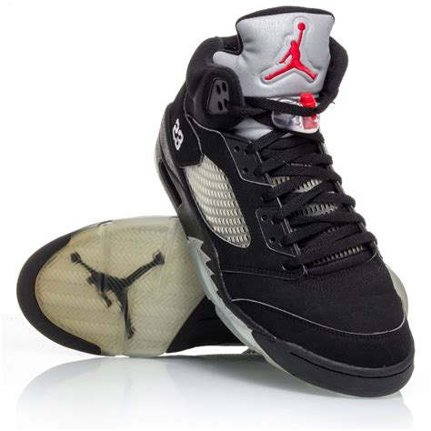 air retro 5 basketball shoes air 5 retro mens basketball shoes black metal