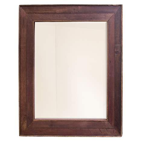 reclaimed wood bathroom mirror cabernet reclaimed oak framed wall mirror mr134 native