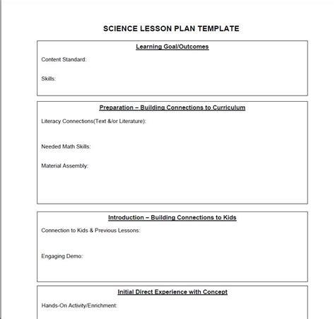 singapore math lesson plan template business template