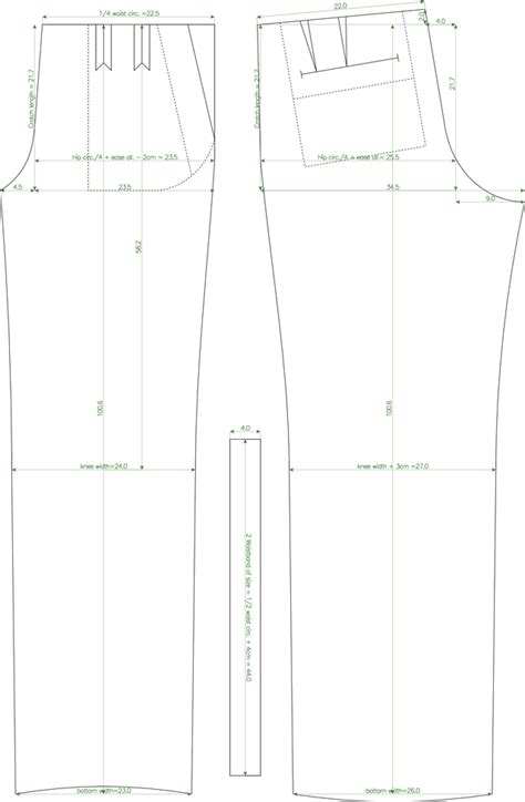 trouser pattern making pdf pdf pattern generator