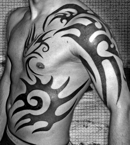 tribal side tattoos for guys on tribal tattoos for tribal