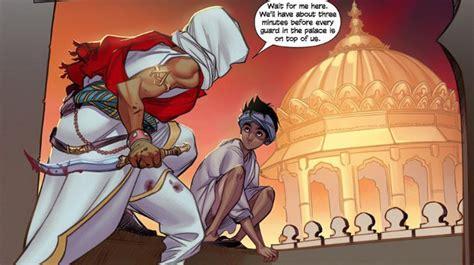 Uq Gamis Nindi 2 assassin s creed brahman graphic novel set in india