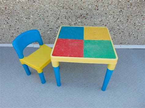lego duplo table with chairs lego table with chair fits small lego duplo lego ages 204