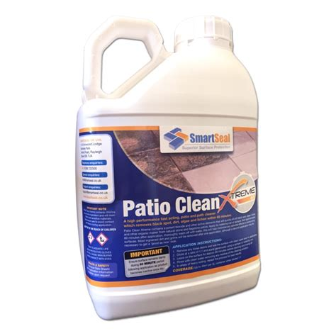 Patio Cleaner patio cleaner to remove black spot lichen and algae smartseal