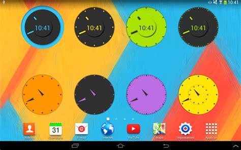 kitkat clock apk wow kitkat clock widgets v1 0 2 apk dialywo