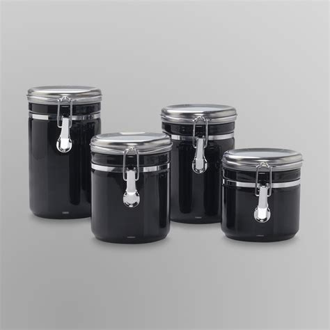 anchor hocking 4 ceramic canister set shop your