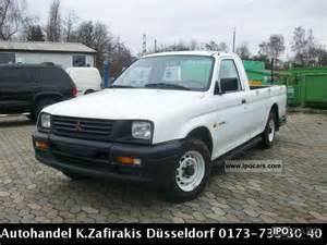 1998 Mitsubishi L200 1998 Mitsubishi L200 Gl 4x2 Up Car Photo And Specs