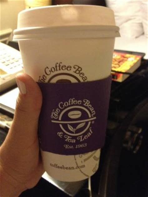 Coffee Bean Tea Leaf chocolate quente picture of the coffee bean tea leaf las vegas tripadvisor