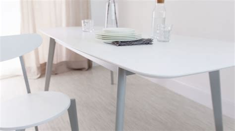 Extendable Kitchen Table modern grey and white extending dining table 8 seater uk