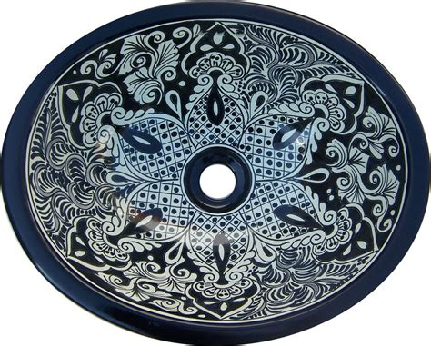 Mexican Ceramic Sink by S 184 Mexican 11 5x16 Quot Ceramic Talavera Bathroom Sink Ebay