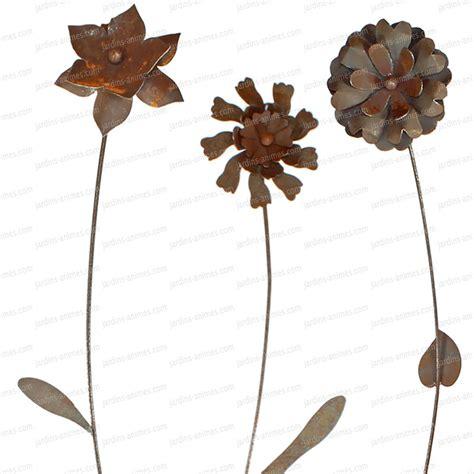 deco en fer pour jardin tuteur fleur decorative en fer forg 233 tuteurs d 233 coratifs