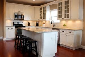 Kitchen Backsplash Ideas With Light Cabinets - white shaker kitchen cabinets all home ideas make
