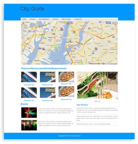 city guide template templates dmxzone