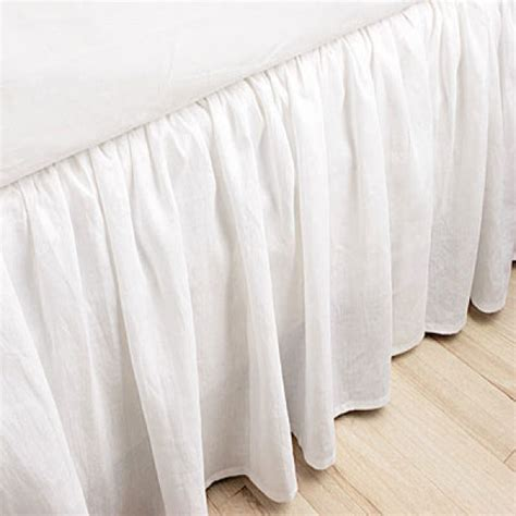 200tc california queen ruffled bed skirt 14 18 21 24