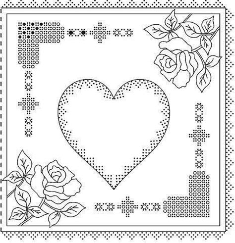 heart pattern xuite 1224 best vellum parchment cards and patterns images on
