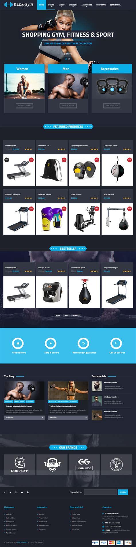Fitness Sport Responsive Theme V9 0 kinggym premium responsive fitness magento theme
