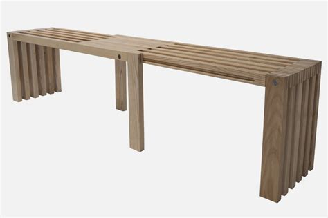 long bench seat minimalist bench exemplified in adjustable double seat
