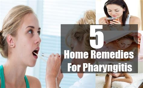 5 most effective home remedies for treating pharyngitis