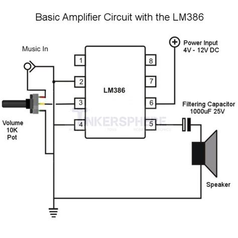 lm386 integrated circuit lifier chip image gallery lm386