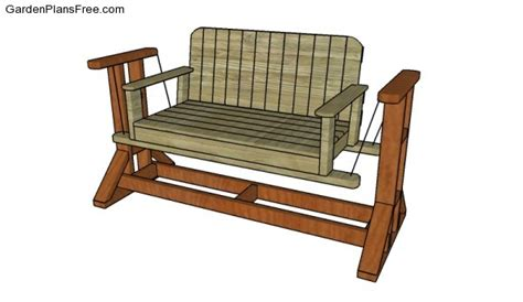 glider swing plans free swing bench plans free garden plans how to build