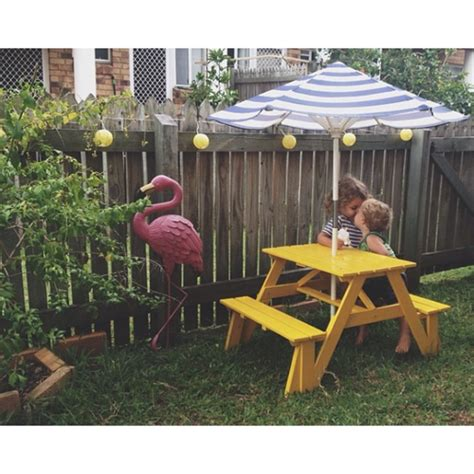 ikea picnic bench love this kid picnic table kid activities pinterest