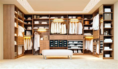 Home Interior Ideas For Small Spaces walk in closet with built in lighting interior design