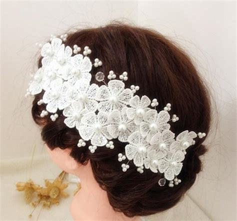 Wedding Hair Flowers Cheap by 2016 Hair Flowers Accessories Wedding Flowers Appliques