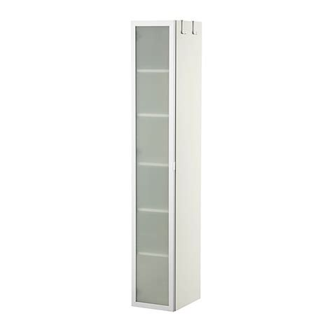 lill 197 ngen high cabinet white aluminum ikea