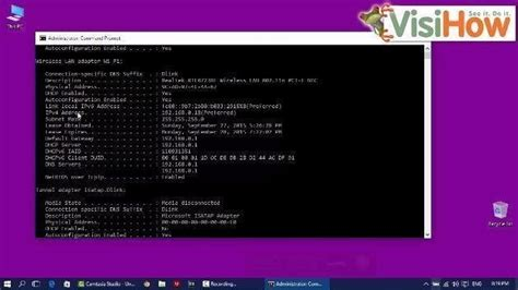Local Ip Address Finder Find Out The Local Ip Address In Windows 10 Visihow