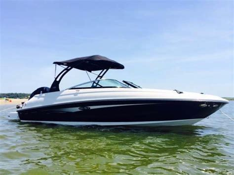 sea ray boats with outboards 2014 used sea ray 240 sundeck outboard bowrider boat for