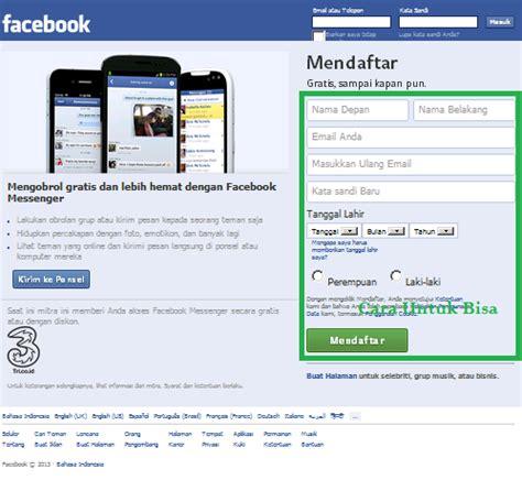membuat facebook sekolah cara membuat fb terbaru gambar cara untuk bisa