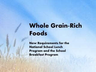 whole grains rich foods ppt calcium rich foods powerpoint presentation id 7379381