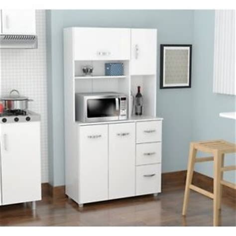 Kitchen Microwave Pantry Storage Cabinet Kitchen Storage Cabinet Microwave Stand Food Utility Pantry Cart Shelf Drawer Ebay