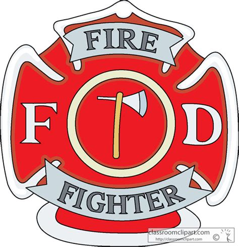 free firefighter id card template firefighter badge clipart