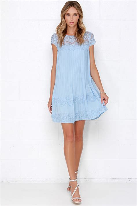 Light Blue Shift Dress by Demi Dress Light Blue Dress Shift Dress Lace