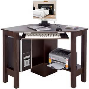 Walnut Corner Computer Desk Horner Corner Office Desk Computer Workstation Walnut Watson S On The Web Furniture