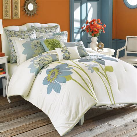 blue pattern sheets modern furniture contemporary bedding designs 2011