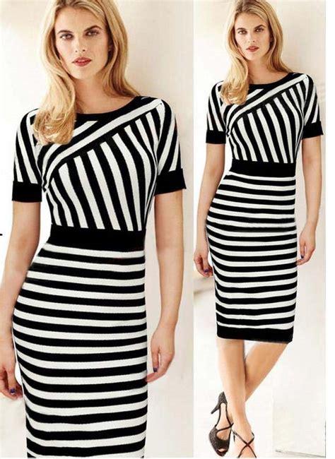 Fashion Import 12 dress hitam putih cantik import 2016 jual model