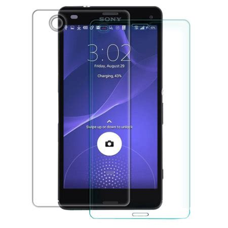 Nillkin H Plus Tempered Glass Screen Sony Xperia Z4 Z3 Plus Dual nillkin h 9h tempered glass sony xperia z3 compact screen protector mobilefun sverige