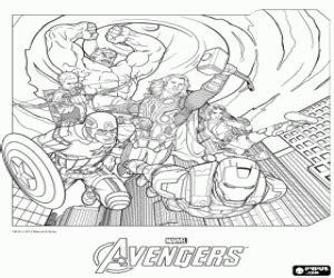 juegos de avengers los vengadores para colorear imprimir juegos de avengers los vengadores para colorear imprimir