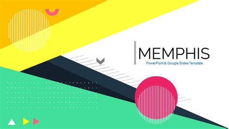 Memphis Awesome Free Powerpoint Templates Google Slides Themes Free Powerpoint Slide Template