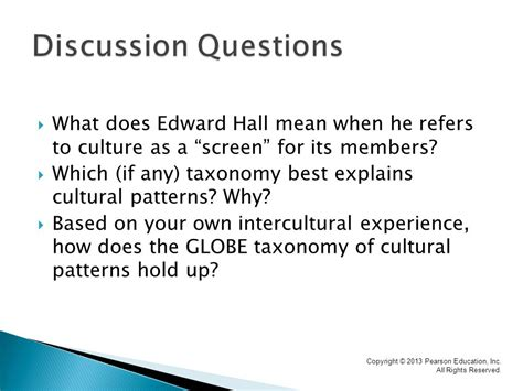 what does pattern up mean chapter 5 cultural patterns and communication taxonomies